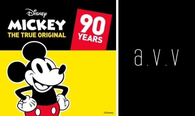 Instagramキャンペーンも!a.v.v 90周年限定ミッキーマウスコラボコレクション本日発売