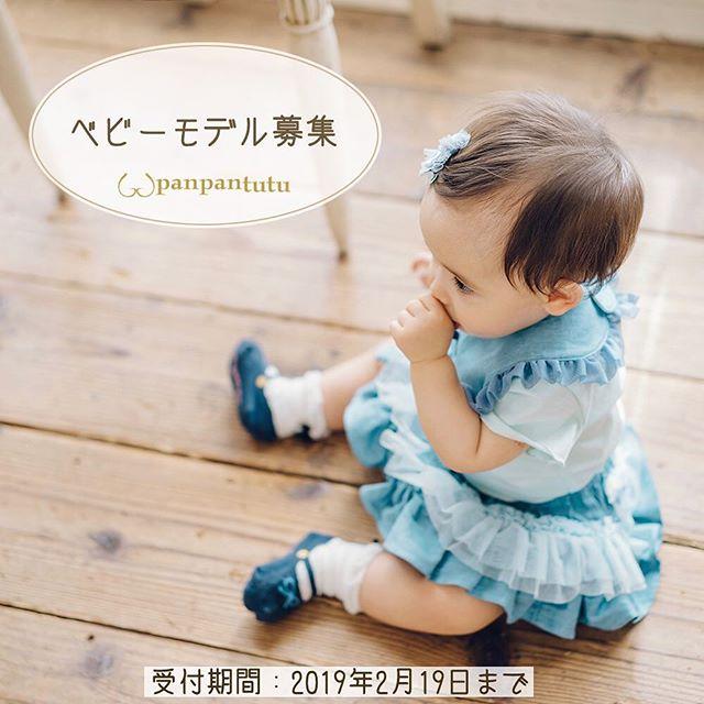 謝礼あり【東京】「panpantutu(パンパンチュチュ)」イメージベビーモデル募集