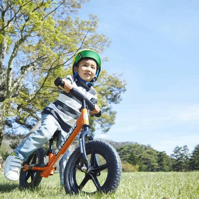 急募!足蹴り自転車「STRIDER(ストライダー)」広告出演キッズモデル募集