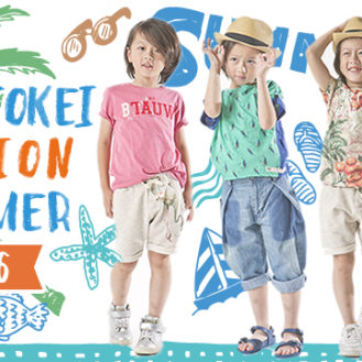 キッズ時計 KIDS-TOKEI FASHION SUMMER 2016