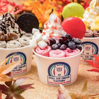 冬もアイスに夢中♡話題のロースアイス専門店「ロールアイスクリームファクトリー」11月22日横浜に新オープン
