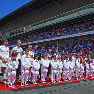 【F1 日本GP】グリッドキッズ10名を一般公募!決勝レース直前の緊張感を体験できるチャンス