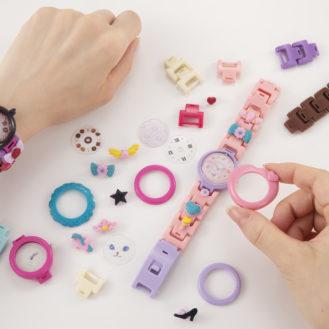 100万通り以上の組み合わせで私だけの腕時計★工具なしで作れるMixWatch