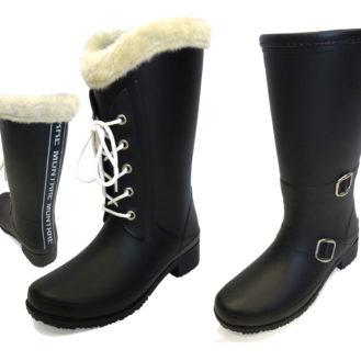 ガールズの冬の足元をオシャレに快適に!「カジュアルラバーブーツ」新発売