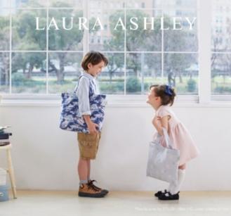 英国ブランド「ローラ アシュレイ(LAURA ASHLEY)」からこの春、キッズ&ベビーアイテムが誕生!