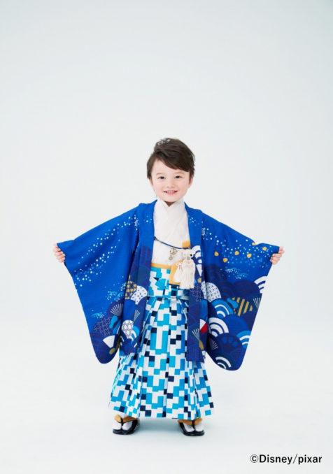 ドナルドダック(3歳男児 羽織)